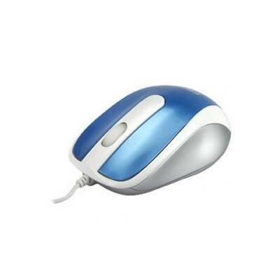 Egér USB optical Blue Spyker